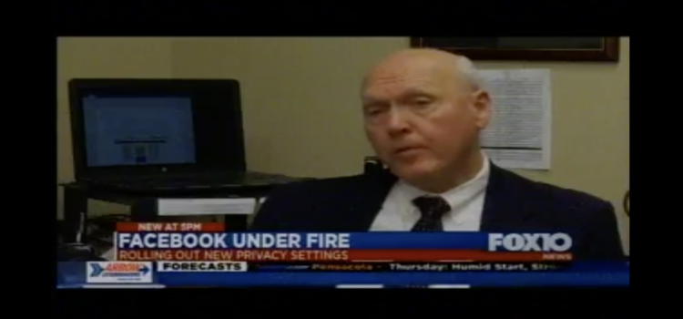 Fox 10 Story About Facebook and their Interview with Les Barnett
