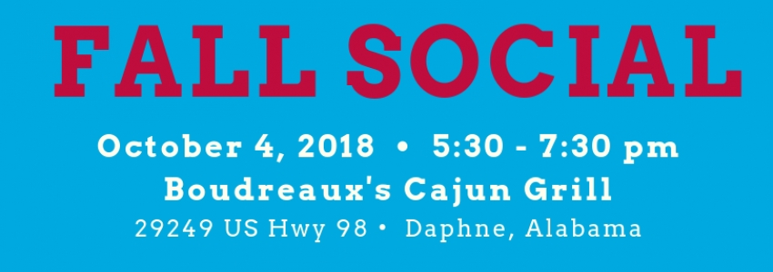 University of South Alabama Fall Social 2018