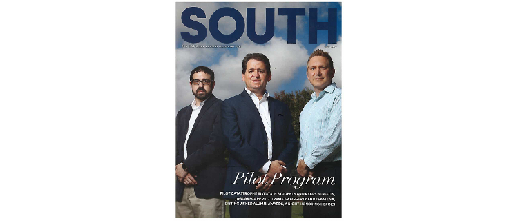 SoC relationship with Pilot Catastrophe featured in SOUTH Magazine