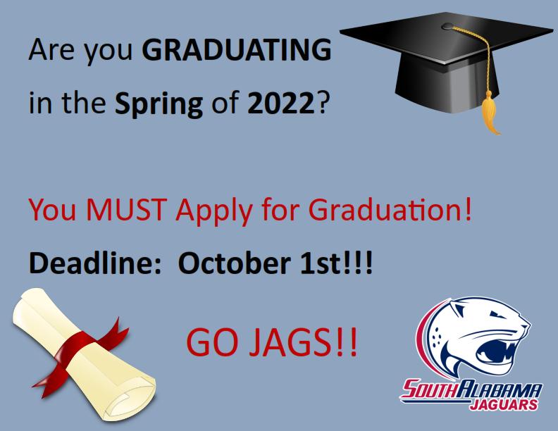 Spring Graduation Deadline