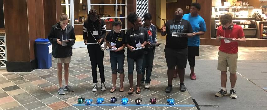 AT&T Contribution to USA School of Computing Provides for Cybersecurity Camp