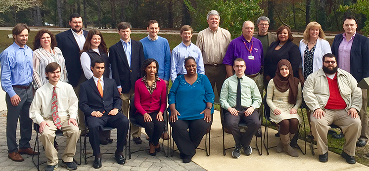 SoC students receive the Gulf Coast Technology Council scholarships
