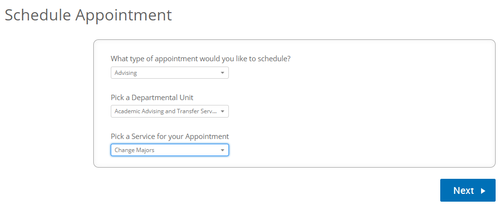 Appointment Reason