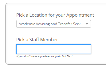 Appointment Location