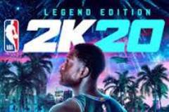2K20 poster with basketball player