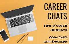Career Chats Tuesdays at 2pm