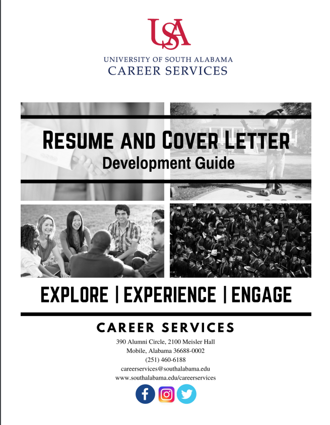 Resume and Cover Letter Development Guide