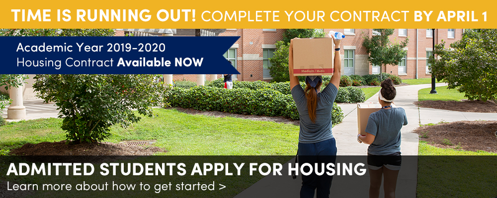 2019-2020 Housing Contract now LIVE