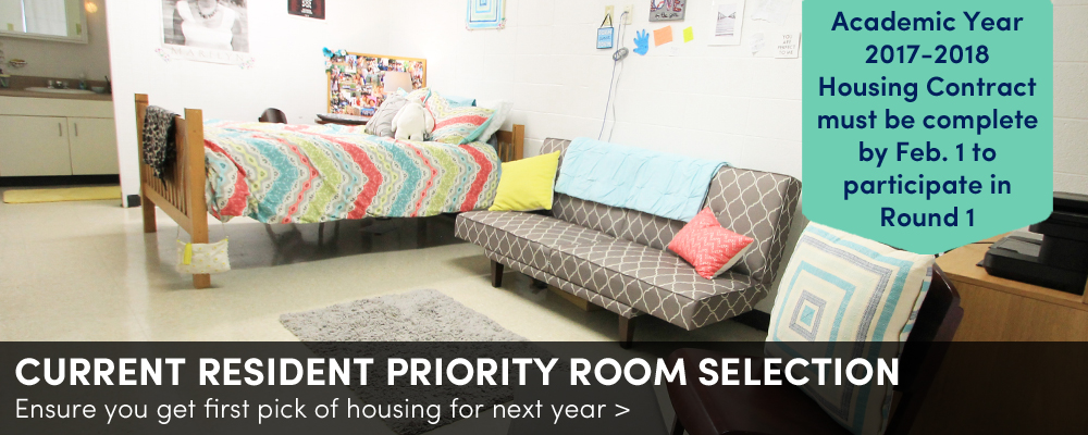 Priority Room Selection 2017