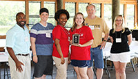 Housing & Residence Life Receives Outstanding Team Award
