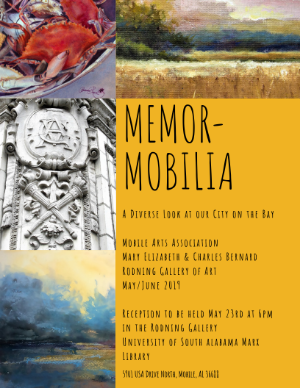 Memor-Mobilia Poster with display information which is also listed on the page