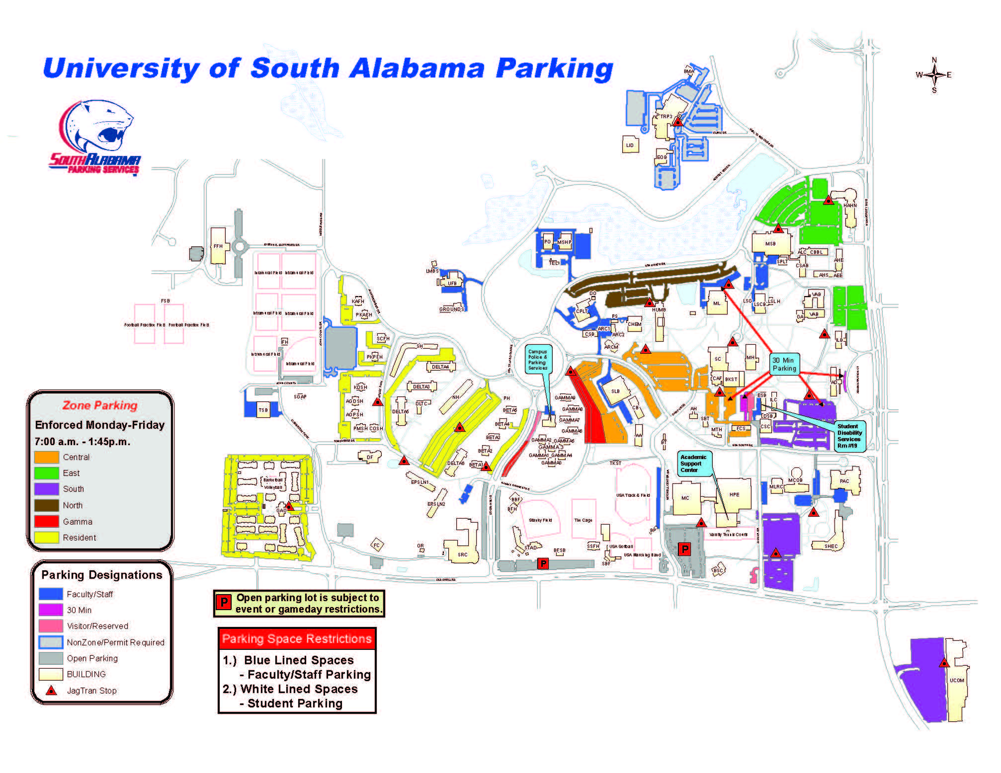 Parking Service Map