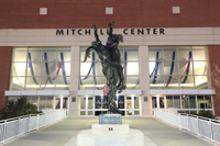 Mitchell Center Sculpture
