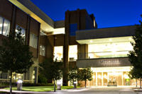 Mitchell College of Business at Night