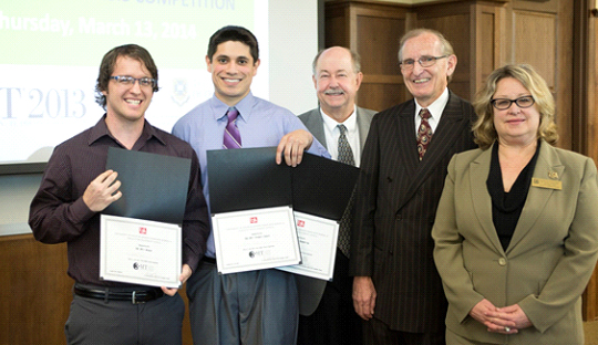 University of South Alabama's first 3MT® Competition winners