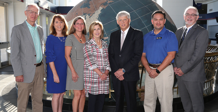 The USA-United Way campaign leadership team.