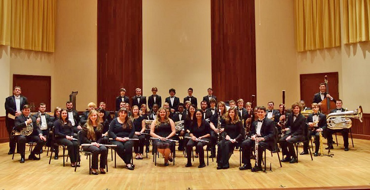 The USA Wind Ensemble will perform at 8 p.m. on Friday at the Saenger Theatre. The event will be free and open to the public.