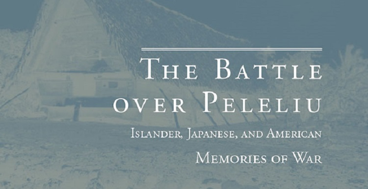 The Battle over Peleliu partial book cover