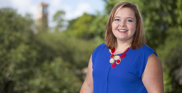 Kinsley Knapp, a nursing student, received two scholarships to attend what's considered one of America's premier conferences for college women, the National Conference for College Women Student Leaders.