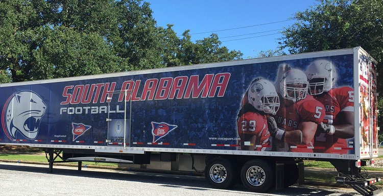 Members of the athletic department staff will be on hand at this trailer to take donations for flood victims from 7:30 a.m.-7:30 p.m., Tuesday through Friday, as well as from 9 a.m.-6 p.m. Saturday, and noon-6 p.m. on Sunday.   data-lightbox='featured'