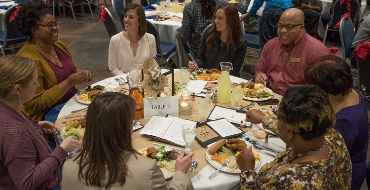 The annual Soul Food Luncheon, sponsored by the Office of Multicultural Affairs, kicked off a month of events celebrating Black History Month.