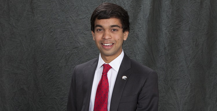 Ravi Rajendra is a senior biology major from Montgomery.