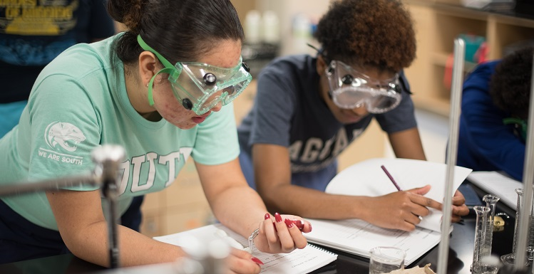 In spring 2014, student enrollment in chemistry was 2,152. This semester, 350 more students are enrolled. New labs will help meet increased demand.