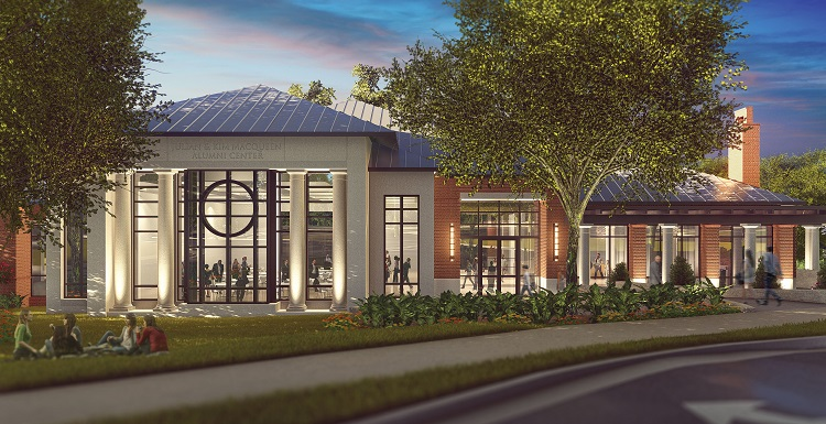 New Alumni Center to Open in 2018