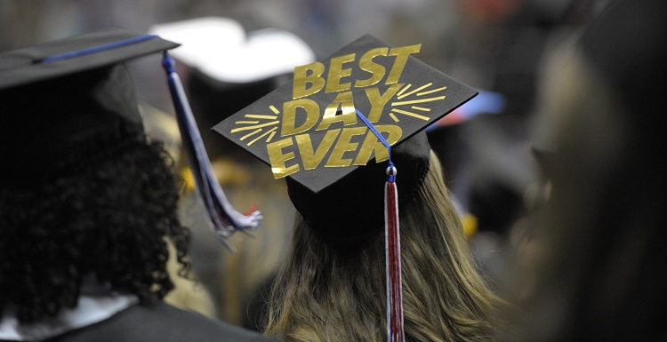 Best Day Ever Graduation Cap