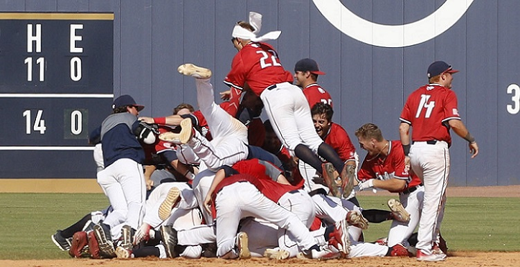 The Jags' win over Georgia Southern marks South Alabama's 11th Sun Belt Tournament title, and its first since 2005.