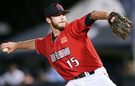 Former Jag and right-hander Ben Taylor is 0-1 with one save and a 6.59 ERA in 11 relief appearances with the Boston Red Sox.