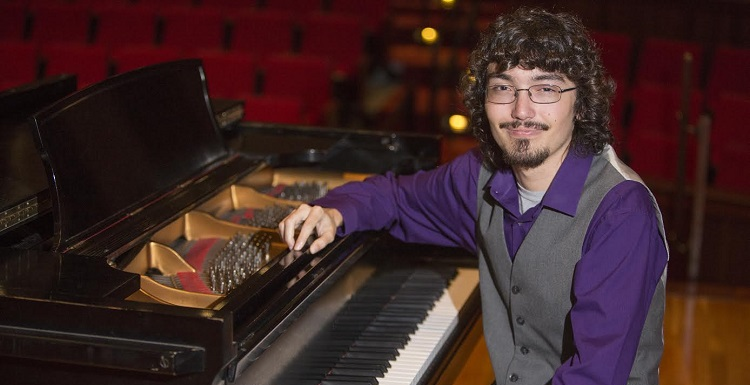 Kohrman, a senior in South's department of music, is the only American selected to compete next week in a prestigious composition competition in Prague.