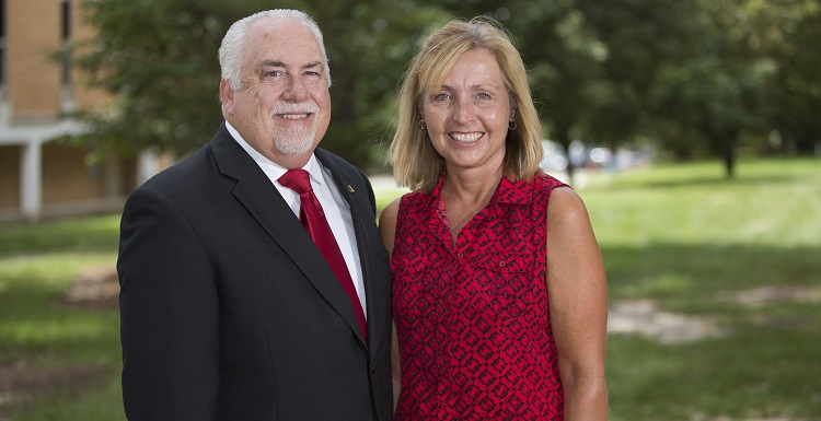 Dr. Richard Carter, USA's associate vice president for global engagement, and his wife, Angela, have established the Dr. Richard and Angela Carter Global USA Endowed Scholarship. The scholarship enhances South's institutional priority of global engagement.