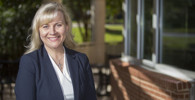 Dr. Heather Hall, who was named interim dean of the USA College of Nursing, earned her bachelor's and master's degrees in nursing from South and her Ph.D. from the University of Tennessee Health Science Center.