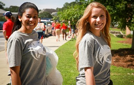 "Move-in Day at South kicks off the University's ""Week of Welcome and Beyond,"" two weeks of special events on campus."