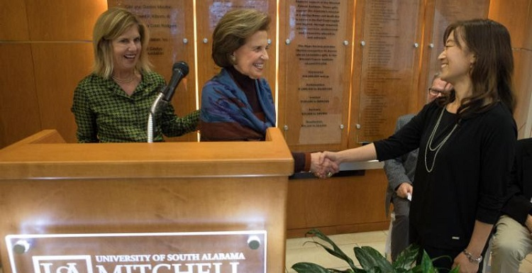Ahn Picks Up Mitchell Cancer Award