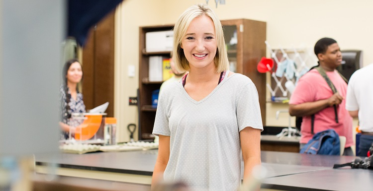 Peyton Posey, a University of South Alabama junior who has been named Alabama's civil engineering student of the year, will begin a Summer Undergraduate Research Fellowship at USA focused on hurricanes and coastal engineering.