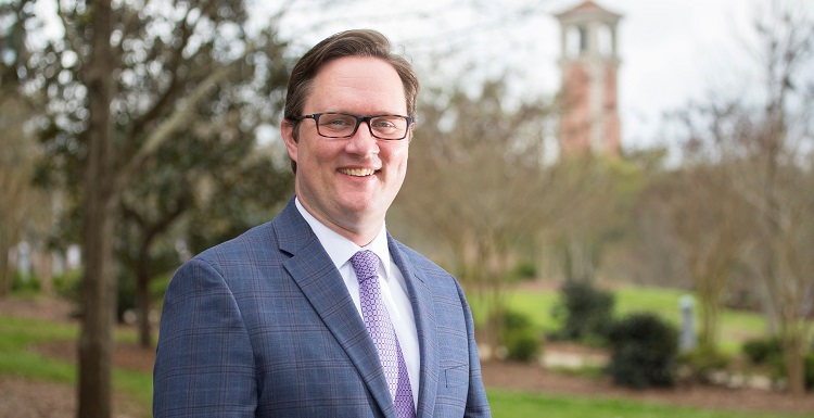 During his tenure at South, Joshua Cogswell's development team has raised more than $17 million for the University, including $8.4 million for undergraduate scholarships.