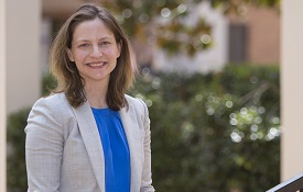 Dr. Claire Cage, assistant professor of history, was the only Alabama recipient when the NEH recently announced the awards. She will travel to France where she will do research for a book on the history of forensic, or legal, medicine during the early 19th century.