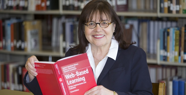 Dr. Gayle Davidson-Shivers, professor of instructional design and development in the College of Education and Professional Studies,  collaborated on the second edition of 'Web-Based Learning: Design, Implementation and Evaluation.'