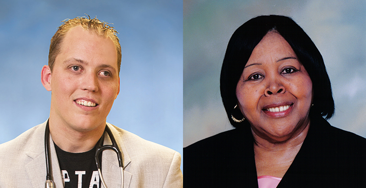 Dr. Tyler Sexton, who overcame a childhood diagnosis of cerebral palsy, and Bettye R. Maye, an educator, civil rights activist and longtime University of South Alabama Board of Trustees member, will address USA graduates during Spring Commencement ceremonies.