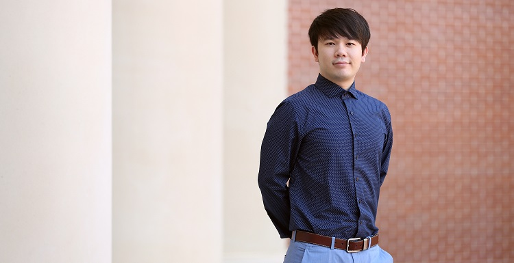 Thanh Nguyen has worked for two years as an intern at Sandia National Laboratories, where he has a job lined up after receiving his master's degree.