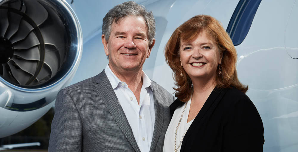 Julian and Kim MacQueen, owners of Innisfree Hotels, said a recent trip around the world was more than a vacation.
