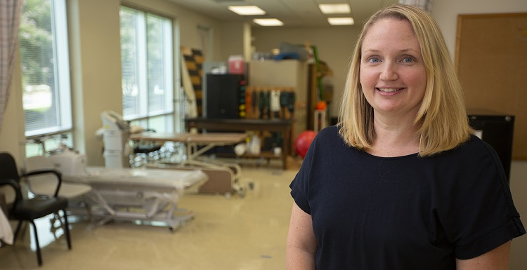 Dr. Blair Saale, assistant professor and assistant director of clinical education, was one of only six physical therapy faculty from around the country chosen for the Parkinson's Foundation Physical Therapy Faculty Program.
