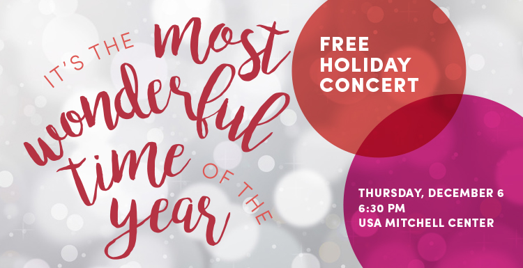 Holiday concert announcement