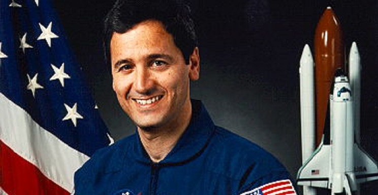 Retired astronaut Larry DeLucas, payload specialist for the space shuttle Columbia in its 1992 Spacelab mission, is the featured speaker on Thursday, March 7 during USA's Space Week.