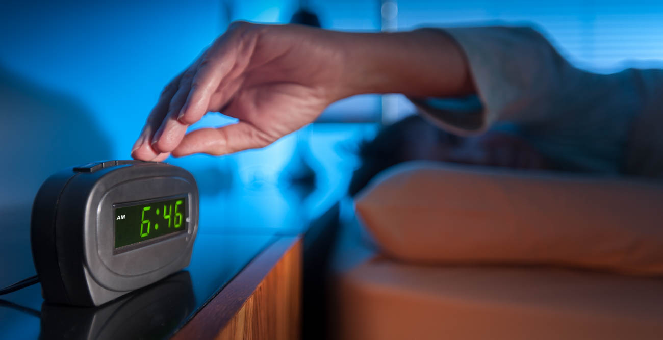 Don't hit snooze on that alarm clock, said Dr. William A. Broughton, a professor of internal medicine at USA Health College of Medicine. Broughton, a sleep specialist, said waking at your normal time can help you adjust to Daylight Savings Time.
