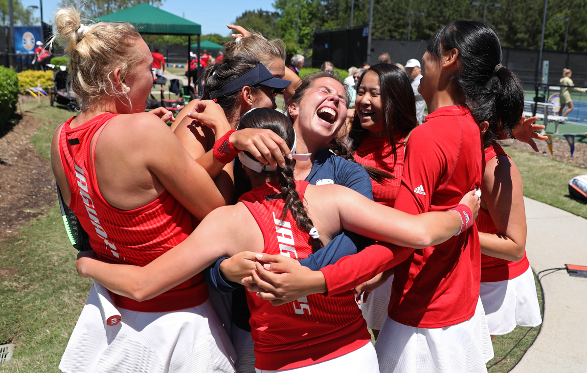 The University of South Alabama men's and women's tennis teams both took home Sun Belt championship titles. NCAA tournament selection will be held April 29.