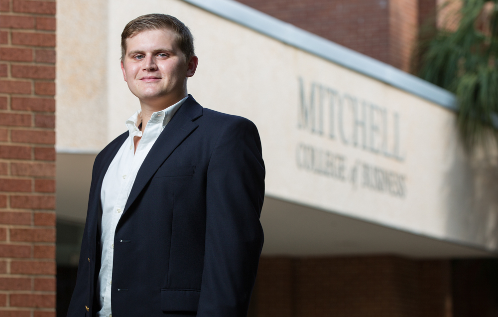 "Mitchell College of Business junior Jack Stover will spend 10 weeks in a summer program in Indonesia. ""I'm sure it will be a great, eye-opening experience for me."""