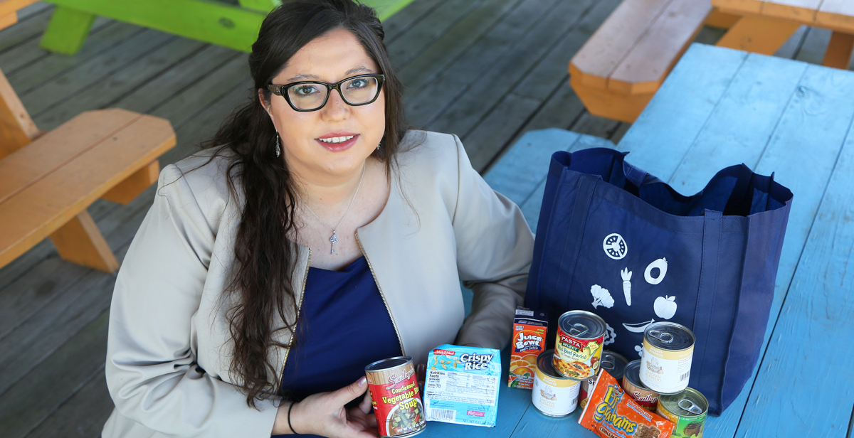 Eugenie Sellier, '11, '16, is the director of child nutrition programs for Feeding the Gulf Coast, where she oversees four child hunger relief programs serving more than 20,000 children.